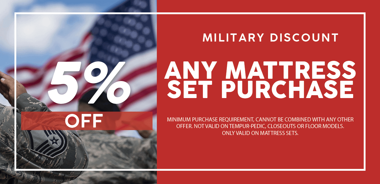 5% Off Military Discount